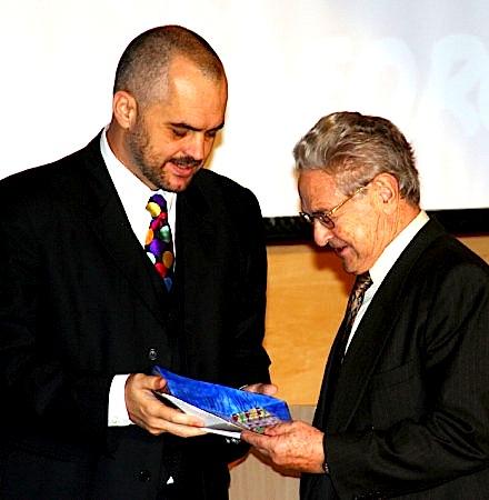Edi Rama & George Soros