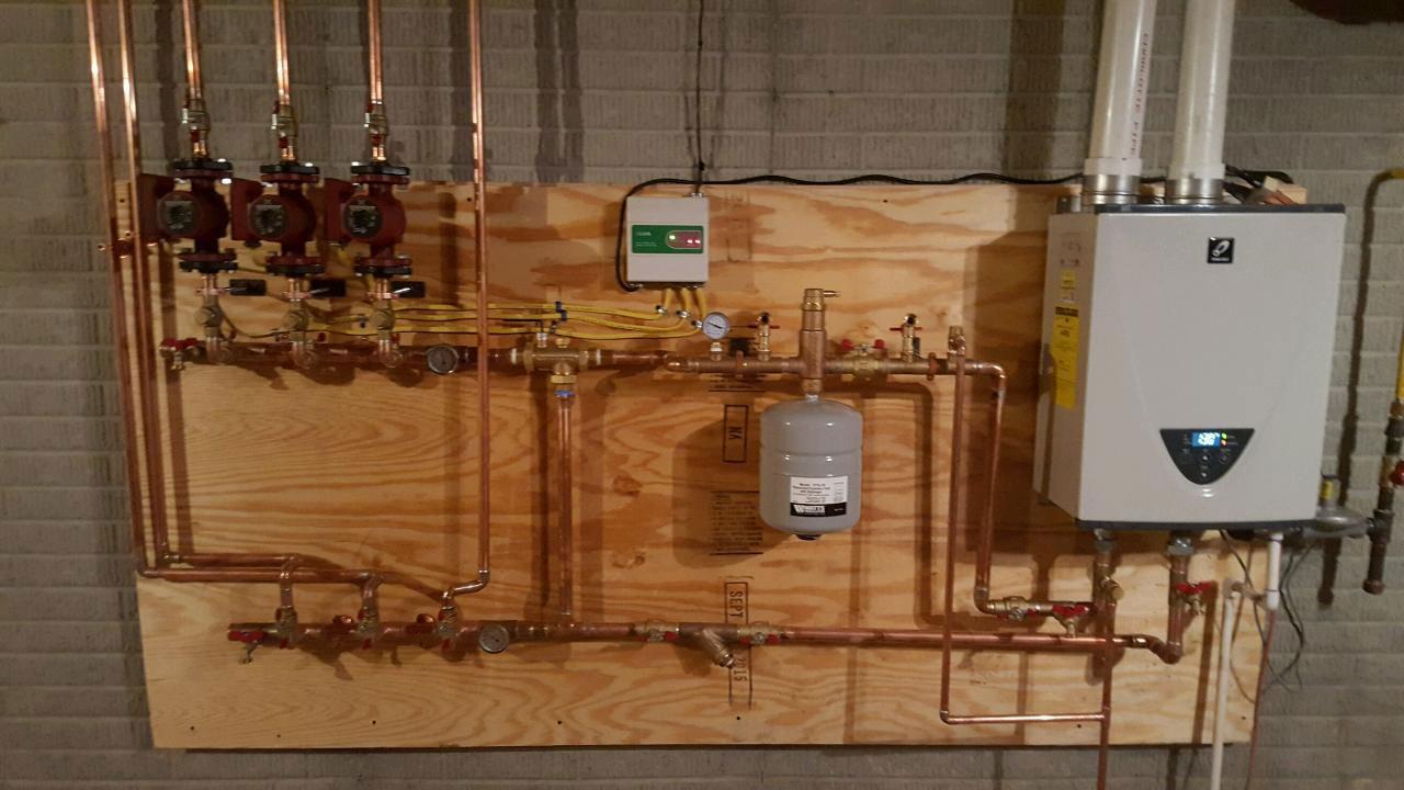 Wiring Circuit Underfloor Heating Zones