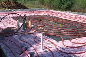 Getting Heat Into Your Home   DIY Radiant Floor Heating