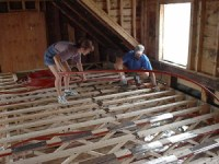 The Floor Joist Installation