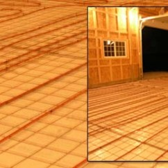 Underfloor Heating Wiring Diagram S Plan Chint Garage Consumer Unit Floor Ball Park Estimates For Your Project Radiantec Radiant Tubing Is Installed Prior To Pouring A Slab System