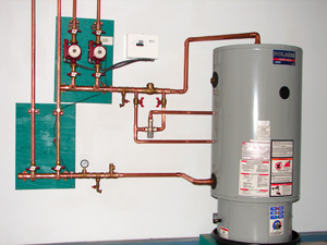 Open Direct System Provides Heat & Hot Water from ONE