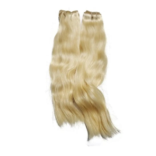 blonde straight hair bundles