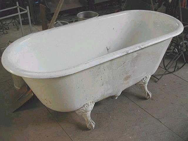 Baignoire En Fonte Lavabo Et Sanitaires Antiquits