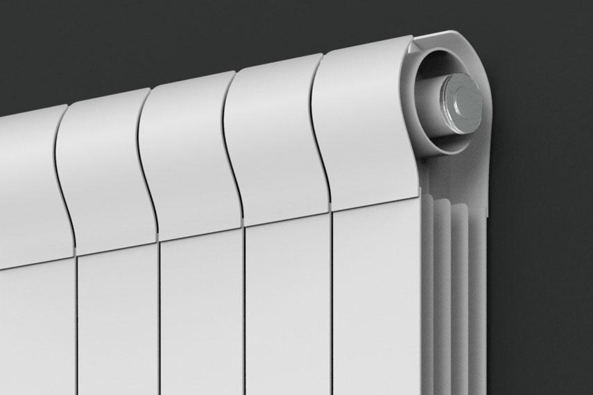 Ottimo  Caloriferi per il soggiorno verticali design  Radiatori 2000