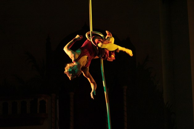 Aerial Rope Performance