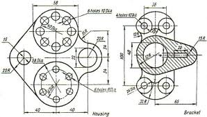 1000+ images about Mechanical drawings / Blueprints / CAD