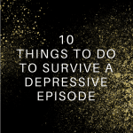 Depression Survival Guide