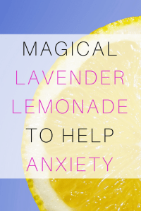 Lavender Lemonade for Anxiety