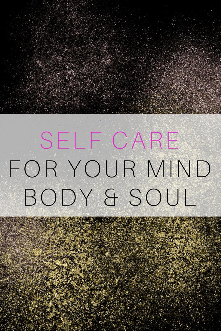 self care mind body soul