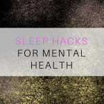 Sleep Tips  for Mental Health