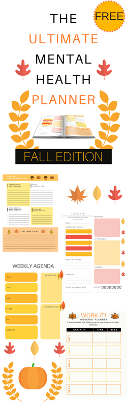 Fall Mental Health Planner