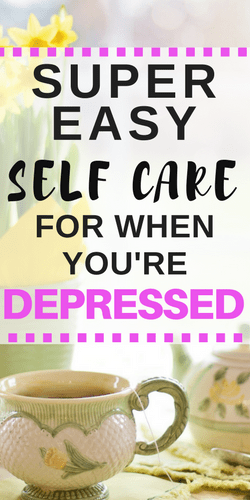 easy self care for depression coping
