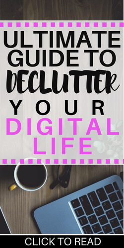 Decluttering Your Digital Media