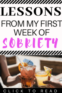 I finished my first week of dry 30 and I am officially one week sober. #sobriety #sober #dry30 #healthylifestyle
