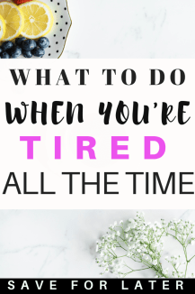 How to have more energy when you're tired all the time #energy #mentalhealth #depression #selfcare