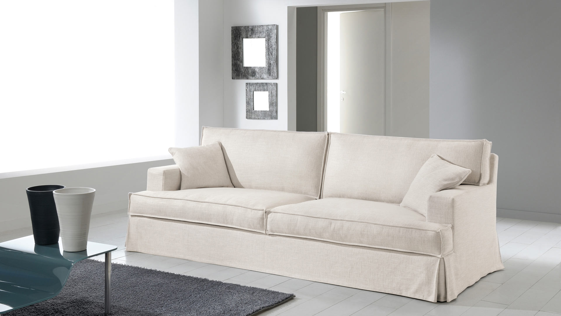 Produzione divani milano  Produzione artigianale divani a