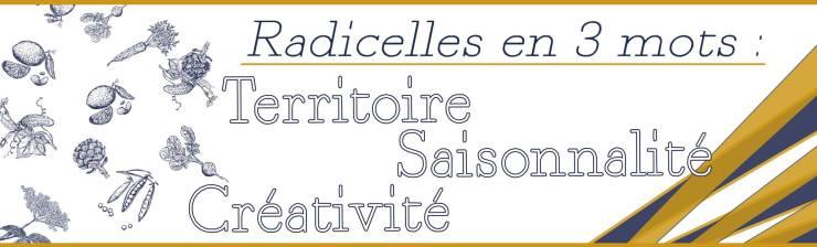 3 mots, Restaurant Radicelles à Annonay en Ardèche