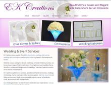 wedding chair cover hire bournemouth bud light covers dorset sashes poole ek creations and table centrepieces in hampshire the new forest