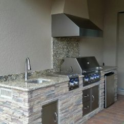 Outdoor Kitchen Exhaust Hoods Small Recycling Bins For Kitchens In Sarasota Past Projects Radil Construction Custom Hood Vent