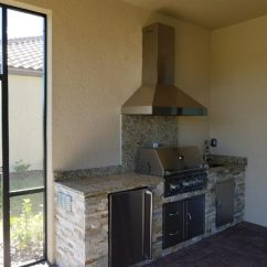 Outdoor Kitchen Exhaust Hoods Soft Flooring Options Appliances Tips And Review Vent Ideas There S No Trace Of The Window We Covered To Accommodate This Hood