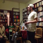 Adrian Shephard – Curious Fox Books Poetry Night