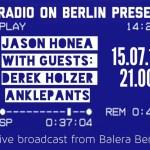 Jason Honea talks w/Derek Holzer and Anklepants.