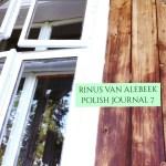 Polish Journal volume 7 by Rinus Van Alebeek