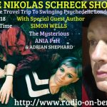 The Nikolas Schreck Show with the author Simon Wells