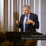 "Timothy Snyder – On Language and ""Not Even Fascism"""