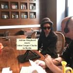 Adrian Shephard meets John Cooper Clarke in Berlin