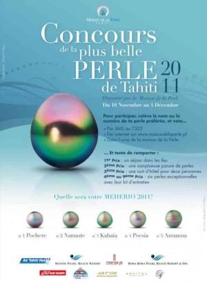 la plus belle Perle de Tahiti 2011