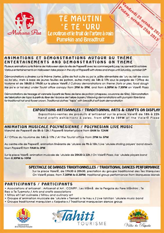 Programme Mahana Pae