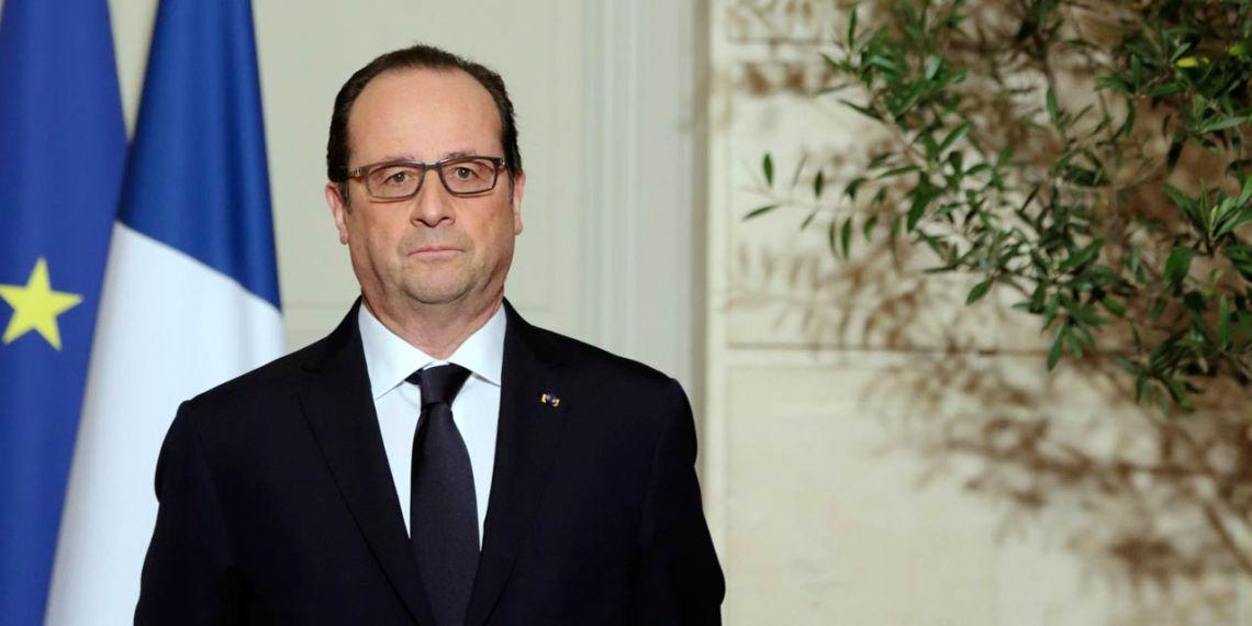 François Hollande a adopté une ligne entre cordialité et fermeté avec le nouveau gouvernement grec. © Philippe WOZIJER/AFP
