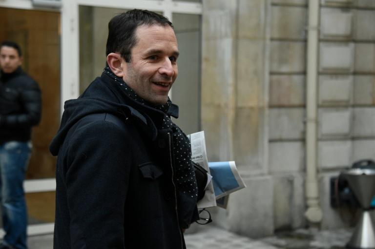 Benoît Hamon, le 7 mars 2016 à Paris. © AFP
