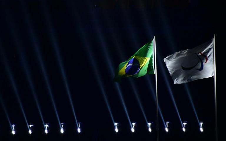 Vue de la cérémonie d'ouverture des Jeux Paralympiques au stade Maracana à Rio de Janeiro au Brésil, le 7 septembre 2016. © AFP
