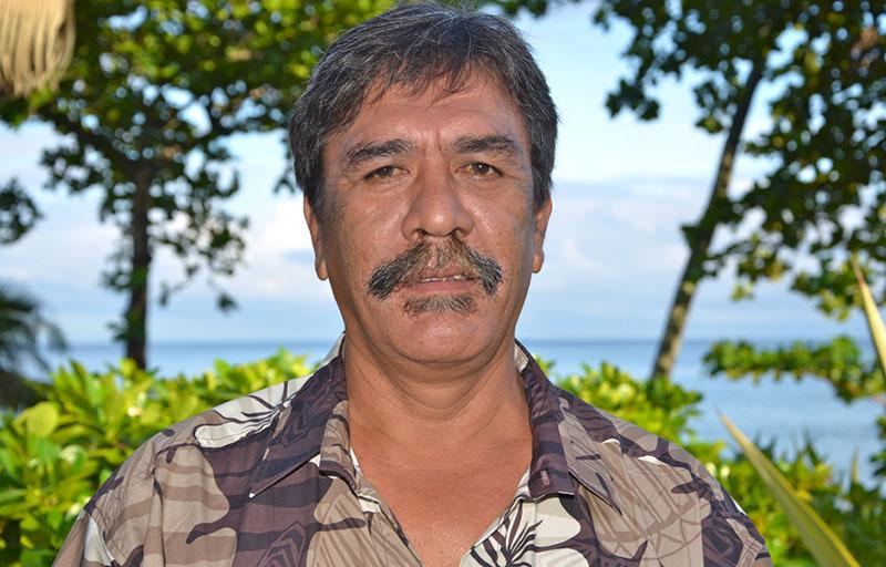 Vai Gooding, maire de l'archipel des Gambiers © SPC