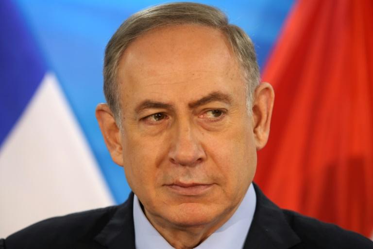 Le Premier ministre israélien, Benjamin Netanyahu, le 24 janvier 2017 à Jerusalem. © AFP