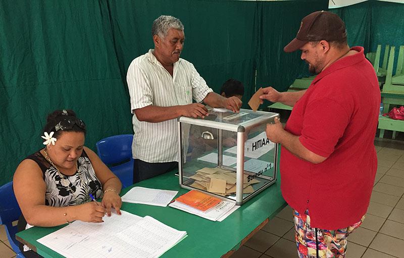 Les horaires douverture des bureaux de vote radio1 tahiti