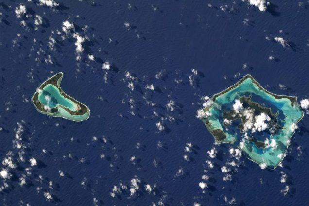Tupai et Bora Bora