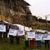 PARO DE 24 HORAS: POBLADORES PROTESTAN ANTE SITUACIÓN DE EMERGENCIA EN KUELAP