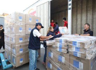 ODPE Chachapoyas recibe material electoral para Elecciones Generales