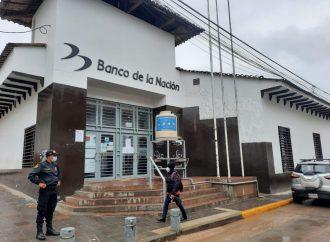 Por medidas Covid 19: Cierran temporalmente bancos en Chachapoyas