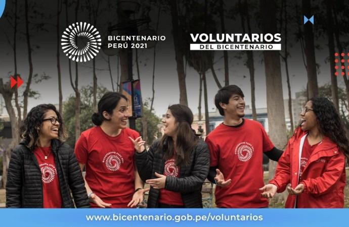 Proyecto Bicentenario: Voluntarios podrán acceder a cursos gratuitos y certificados