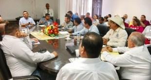 Exhorta Alcalde Francisco Pelayo a Sus Colaboradores se Redoblar Esfuerzos