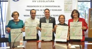 """Expiden convocatoria para la entrega de la Medalla al Mérito Científico y Tecnológico 2017""""."""