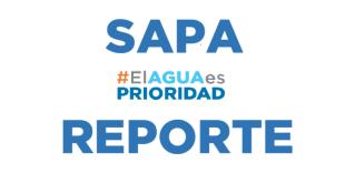#ElAguaEsPrioridad reporte SAPA, 20 octubre 2017