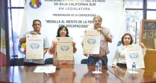 Lanzan la convocatoria para la entrega de la Medalla al Mérito de la Persona con Discapacidad.