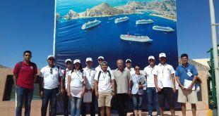 Participan alumnos de UABCS Los Cabos en estudio sobre satisfacción y perfil del turista de cruceros