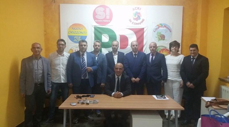 Consiglieri eletti con Pino Capalbo